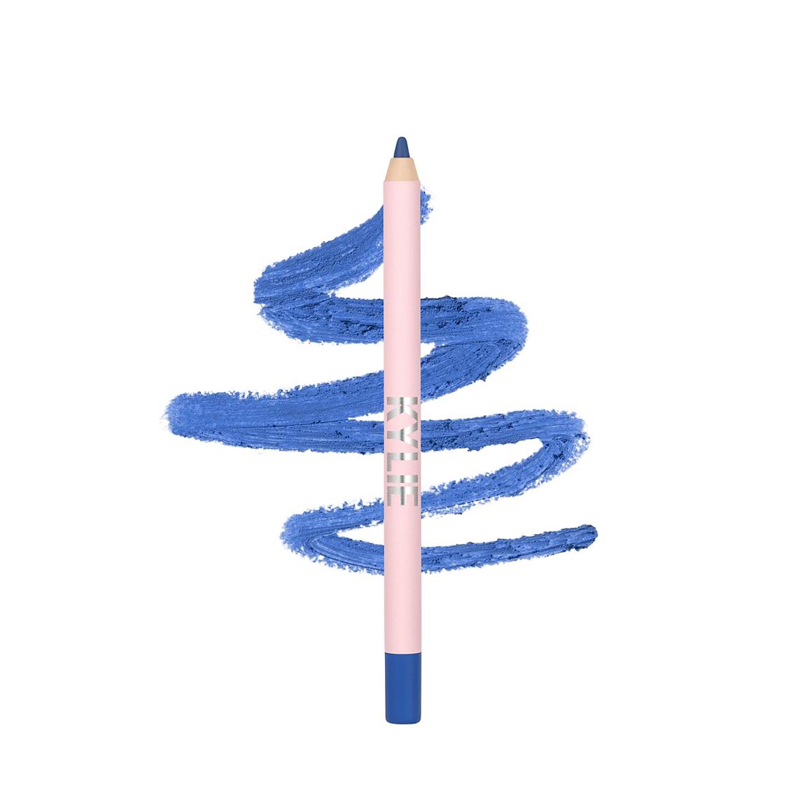 Matte Blue Gel Eyeliner Pencil