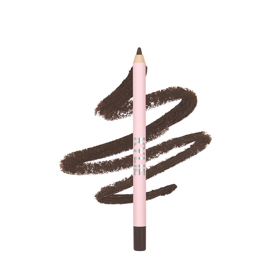 Matte Dark Brown Gel Eyeliner Pencil