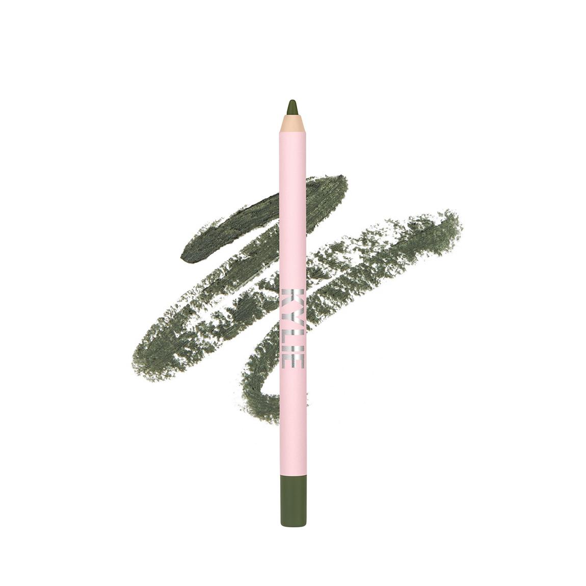 Matte Green Gel Eyeliner Pencil