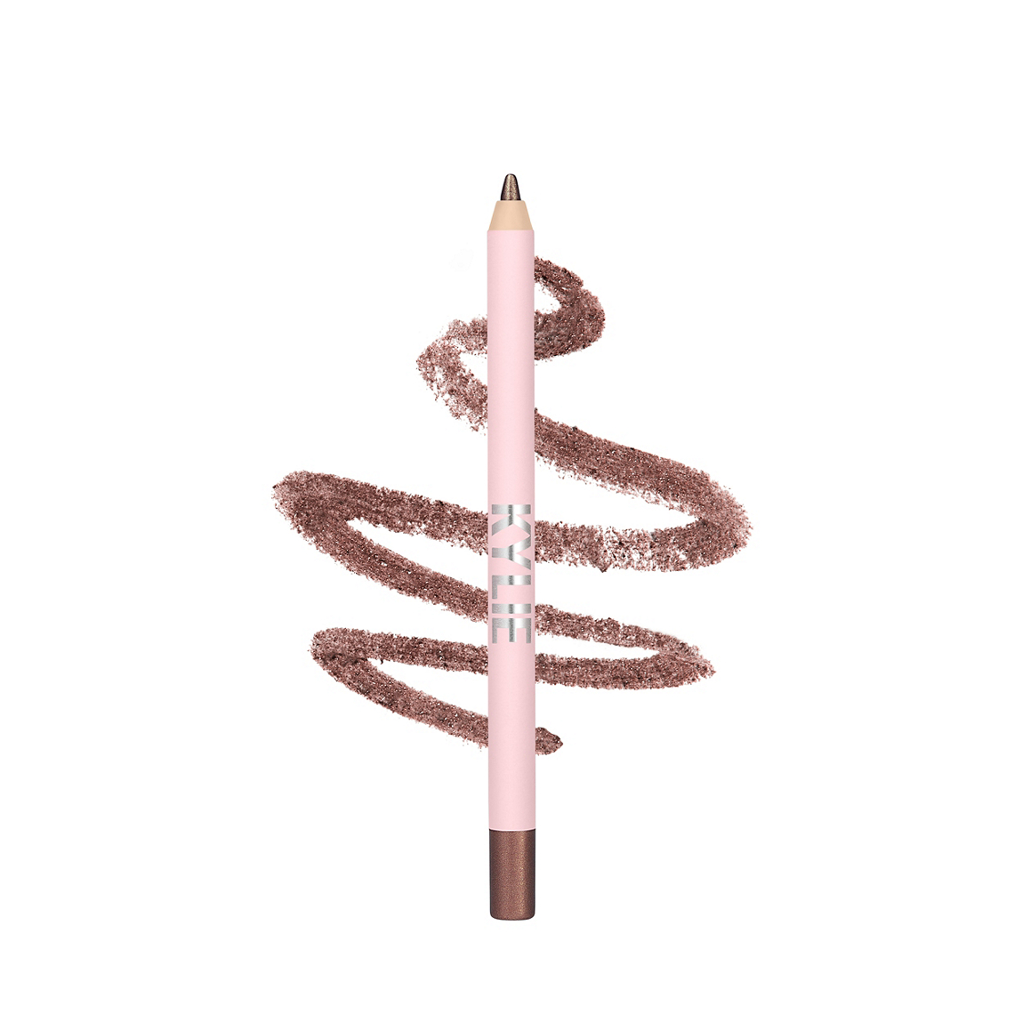 Shimmery Bronze Gel Eyeliner Pencil